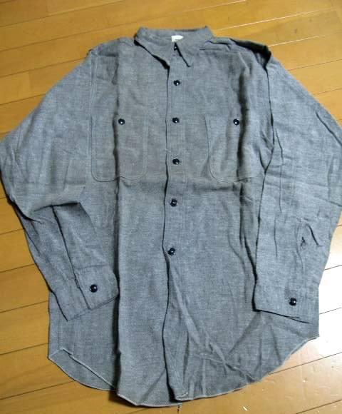 新春2日の入荷商品!40\'S ブラックシャンブレーシャツなど、、_c0144020_17373723.jpg