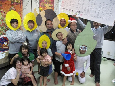 クリスマスパーティー(^^♪  (後半)_b0158746_14354488.jpg