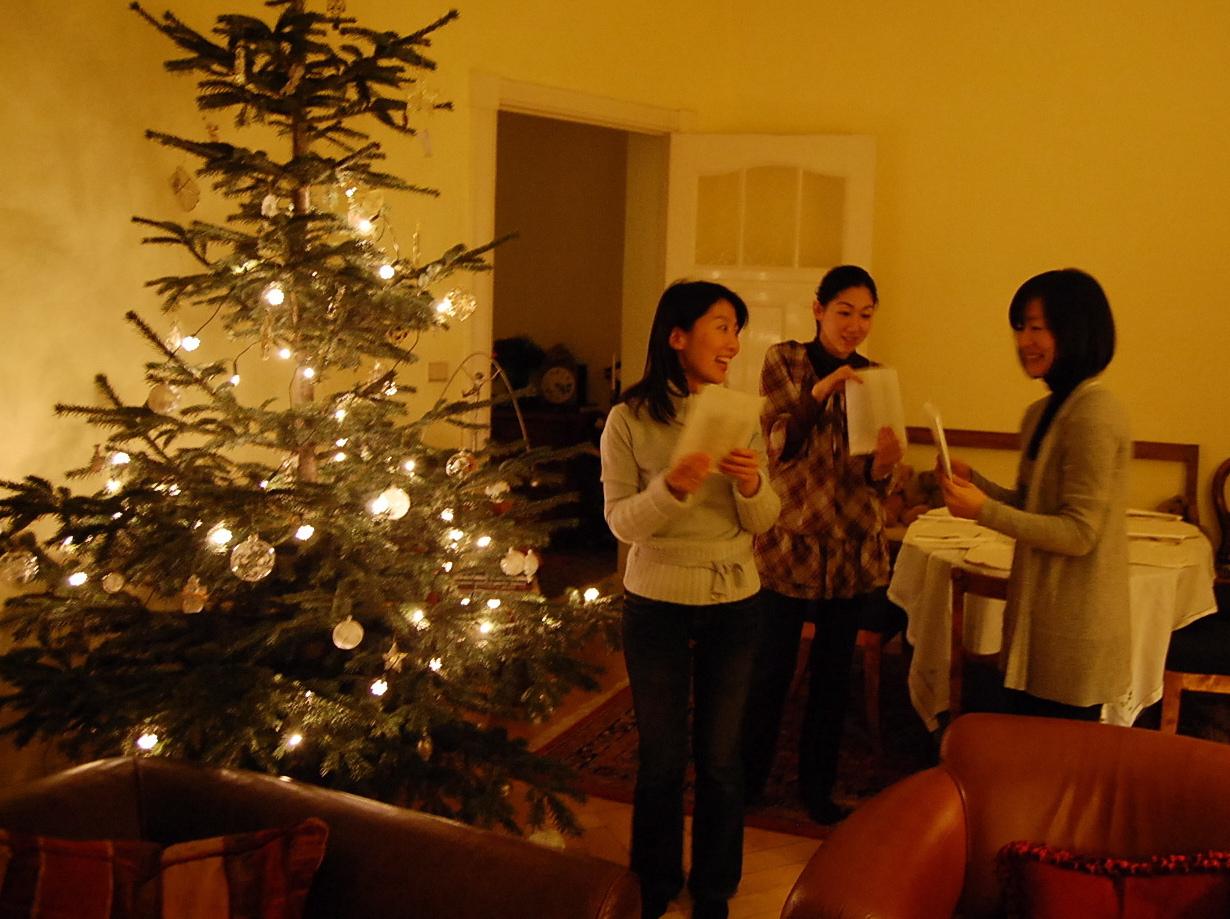 クリスマスから年末、日本より友来る。_c0180686_8463822.jpg