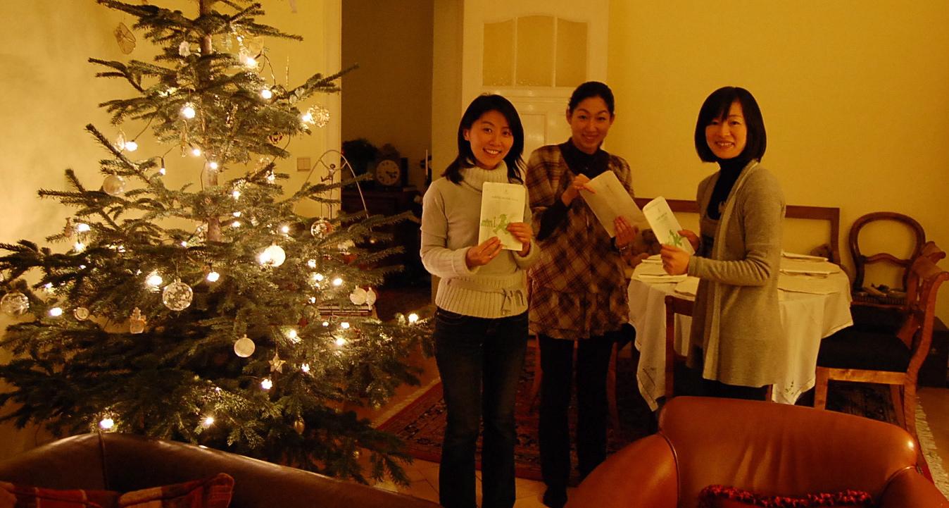 クリスマスから年末、日本より友来る。_c0180686_8573614.jpg