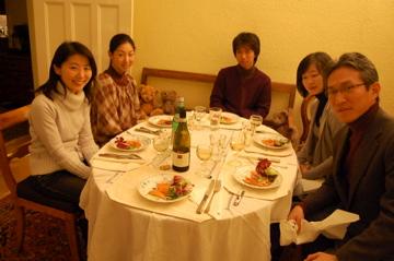 クリスマスから年末、日本より友来る。_c0180686_901942.jpg