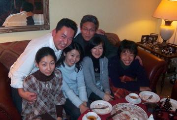 クリスマスから年末、日本より友来る。_c0180686_914115.jpg