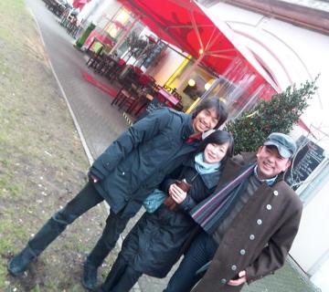 クリスマスから年末、日本より友来る。_c0180686_9315345.jpg