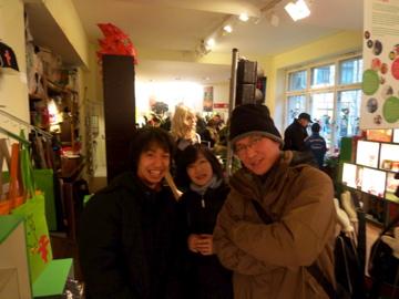 クリスマスから年末、日本より友来る。_c0180686_9335196.jpg
