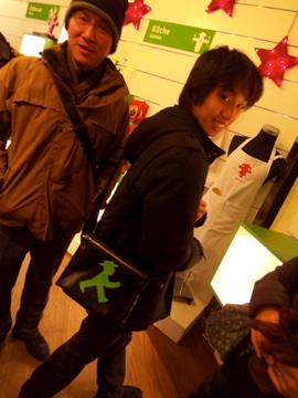 クリスマスから年末、日本より友来る。_c0180686_9341883.jpg