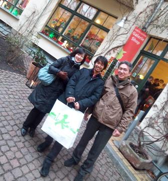 クリスマスから年末、日本より友来る。_c0180686_9352542.jpg