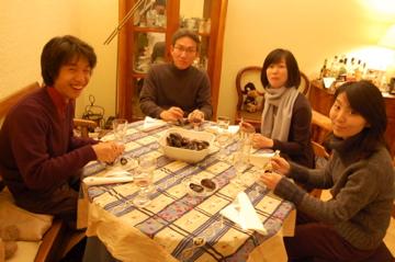 クリスマスから年末、日本より友来る。_c0180686_9432780.jpg