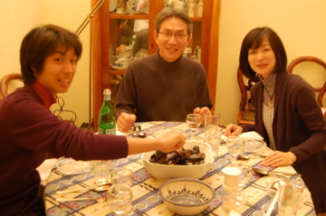 クリスマスから年末、日本より友来る。_c0180686_9461230.jpg