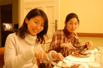 クリスマスから年末、日本より友来る。_c0180686_971129.jpg