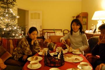 クリスマスから年末、日本より友来る。_c0180686_993416.jpg