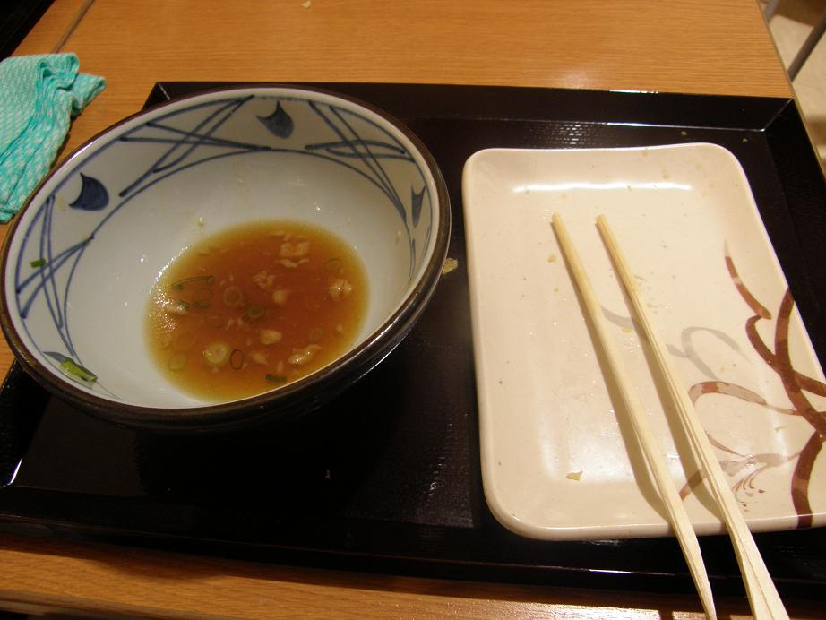 丸亀製麺       イオン猪名川店_c0118393_1551741.jpg