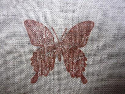 大きい蝶のハンコ
