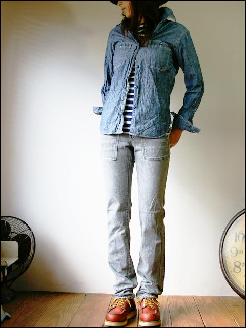 orslow [オアスロウ] chambray shirts [シャンブレーシャツ] Lady\'s _f0051306_20593216.jpg