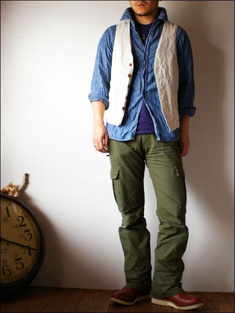 orslow [オアスロウ] chambray shirts [シャンブレーシャツ] blue_f0051306_2114254.jpg