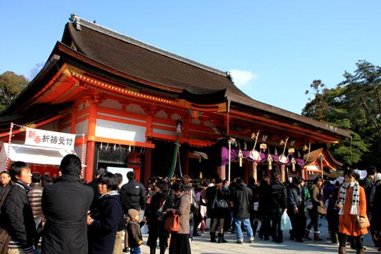初詣 八坂神社_e0048413_17473715.jpg