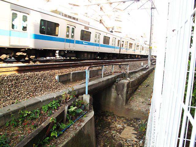 河骨川・姿を現した参宮橋の遺構_c0163001_16165394.jpg