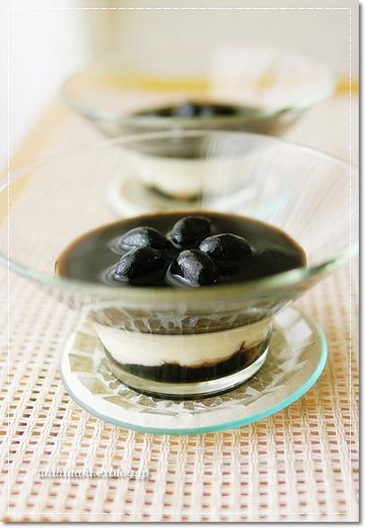 黒豆のお豆腐レアチーズ_f0179404_20592437.jpg