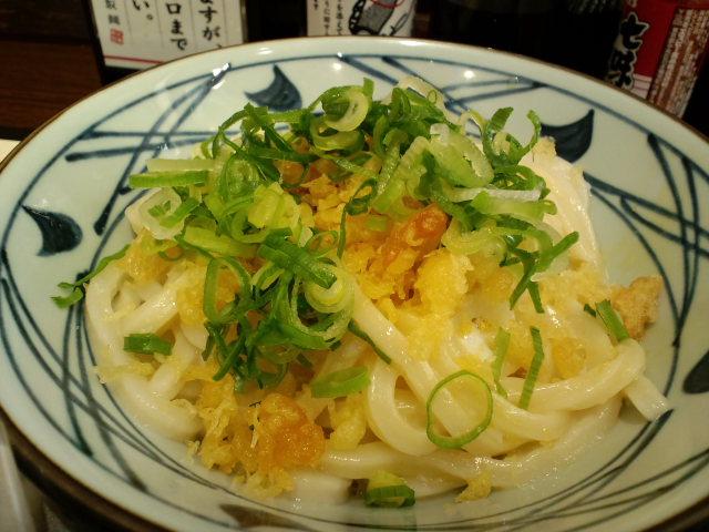 讃岐釜揚げうどん 丸亀製麺 高知店_a0077663_12244356.jpg