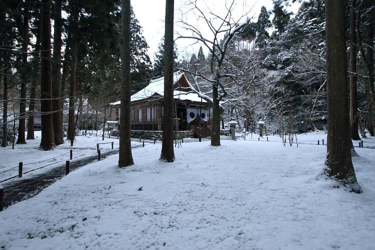 雪の三千院_e0051888_17175372.jpg