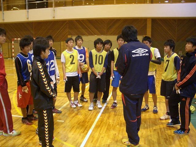 ハンドボール部OB会の「初投げ」_f0141310_23512286.jpg