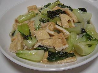 鶏ささみともやしのポン酢和えと青梗菜のにんにく炒め_c0025217_23414437.jpg