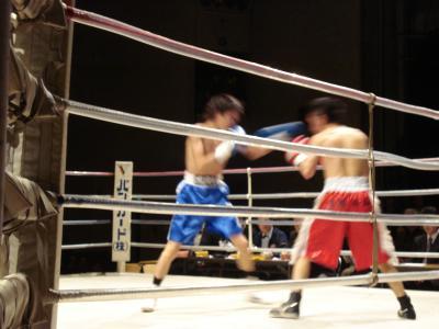 12がつ26日 (土)ボクシングイベント_e0007558_11113611.jpg