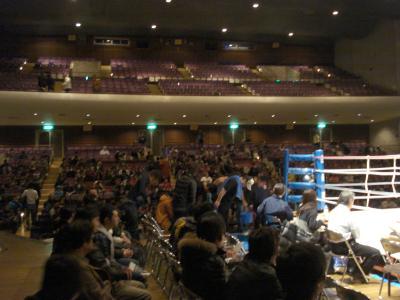 12がつ26日 (土)ボクシングイベント_e0007558_11124859.jpg