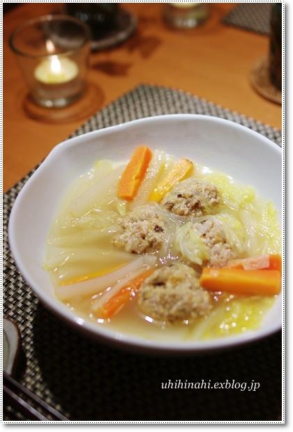 高野豆腐の肉団子入り野菜スープ_f0179404_21491829.jpg