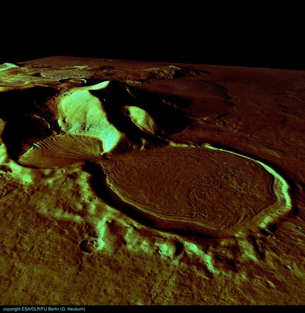 火星の遺跡:アワーグラス(砂時計)クレーター、サクラホッセ_e0171614_10255623.jpg