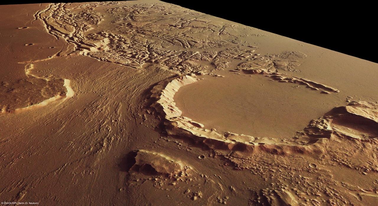 火星の遺跡:アワーグラス(砂時計)クレーター、サクラホッセ_e0171614_10305128.jpg