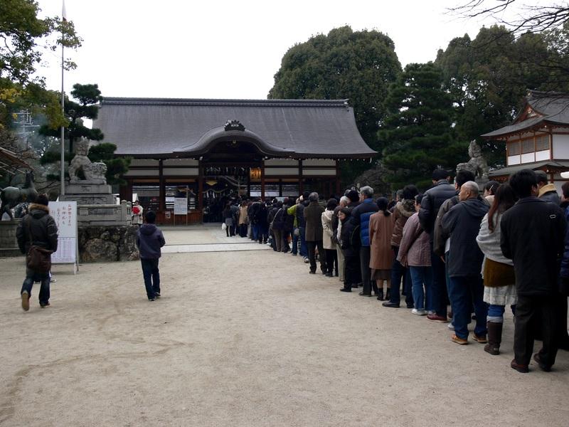 「2010・京都・藤森神社・初詣の風景」_d0133024_1229212.jpg