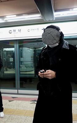 地下鉄に乗るのは10年ぶり?のRAIN_c0047605_16142587.jpg