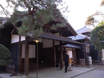 「坂の上の雲」の撮影に使われた堀田邸。_c0195909_18225963.jpg