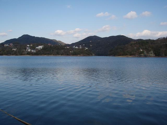 2010年新年の東条湖_f0002573_1358165.jpg