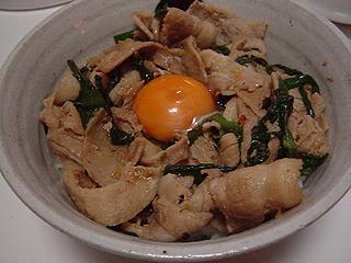 スタミナ丼_c0025217_23412998.jpg