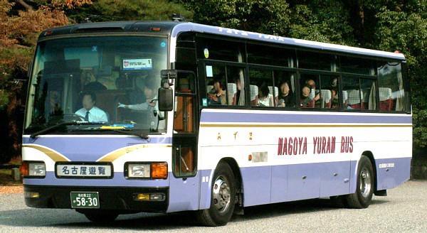 名古屋遊覧バス : おさかなバス...