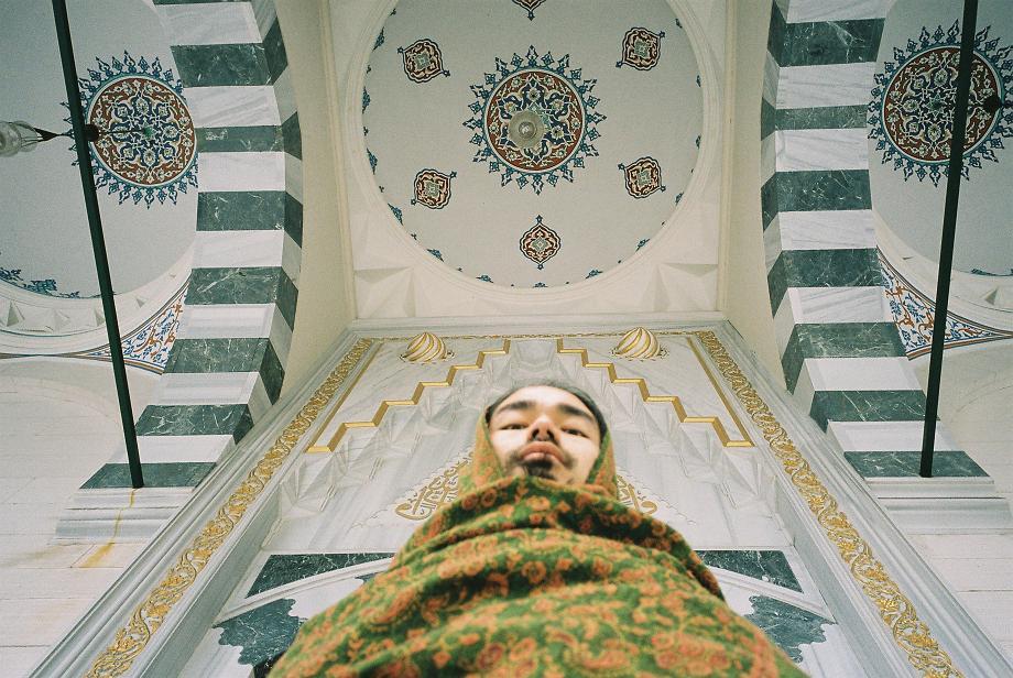 初、モスク詣_c0195271_14235163.jpg