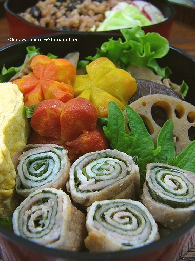予想外の寒い冬・・・ ☆今日のお弁当♪_c0139375_13331864.jpg