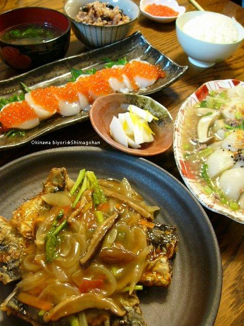 贅沢な食材たちのおかげ(\'ε゚人) ごちそうさまでした♪_c0139375_1664324.jpg