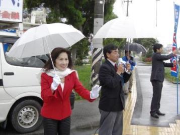 名護市長選・稲嶺ススム予定候補を応援 _f0150886_15172318.jpg