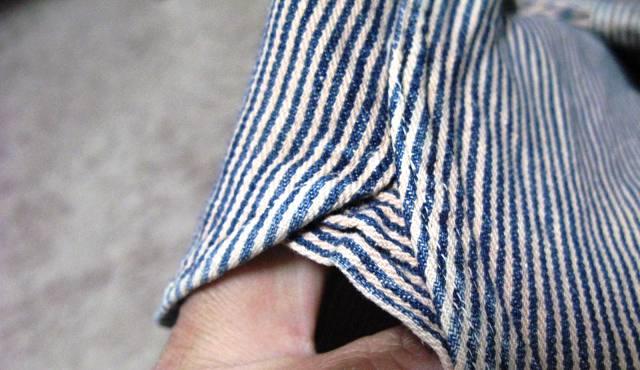 1月10日(日)入荷!50年代-60年代Lee ヒッコリーマチ付きシャツ!_c0144020_2048120.jpg