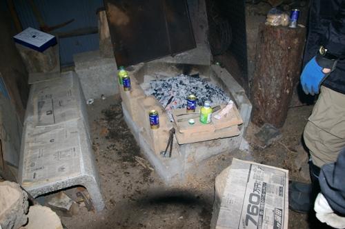 1/9 究極の火遊びを楽しむ 炭作り_b0174425_14214932.jpg