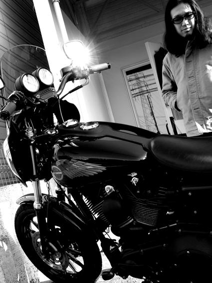 5COLORS 『 君はなんでそのバイクに乗ってんの?』#13_f0203027_23392648.jpg