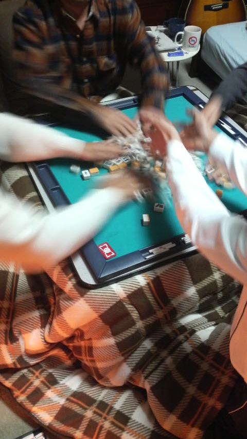 モビリオ争奪麻雀大会_c0110051_1610383.jpg