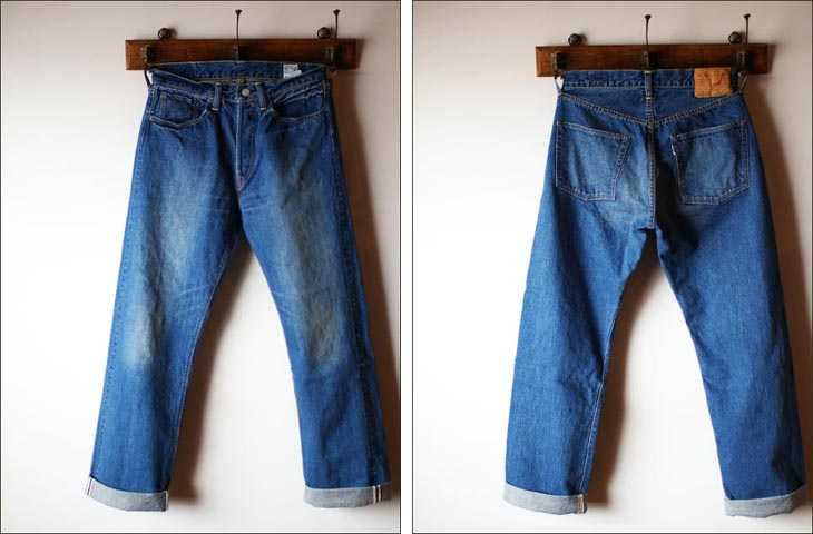 orslow[オアスロウ] ORIGINAL STANDARD 5POCKET PANTS  13.5oz ORIGINARL selvedge denim 2year wash _f0051306_1894367.jpg