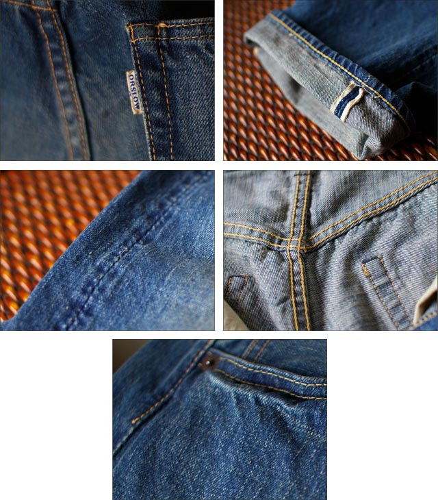 orslow[オアスロウ] ORIGINAL STANDARD 5POCKET PANTS  13.5oz ORIGINARL selvedge denim 2year wash _f0051306_189547.jpg