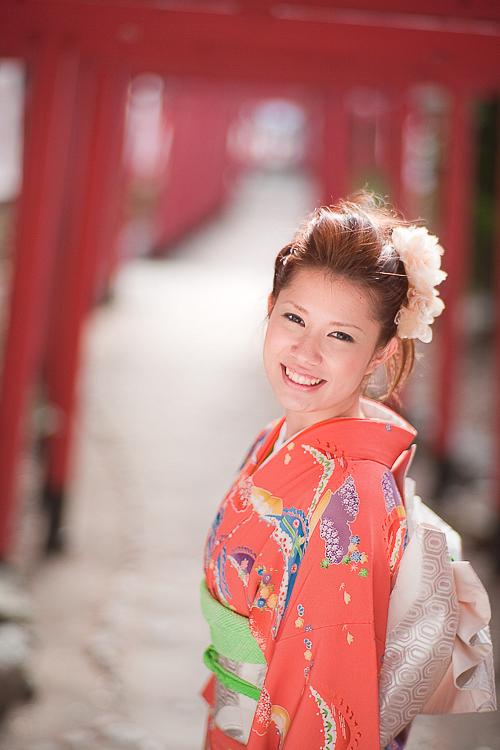 1/11 成人式の前撮りロケーションフォト/名古屋 成海神社_a0120304_1325242.jpg