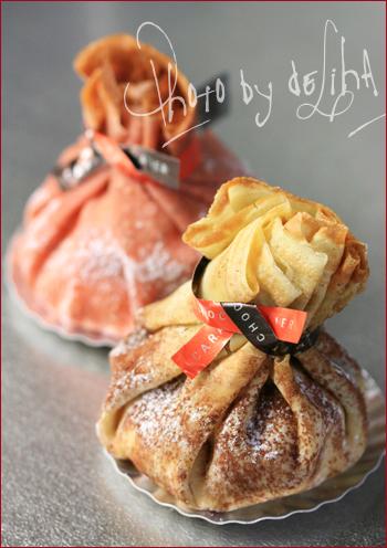 『アンリ・ルルー』ガレット包みのケーキ <オモニエール>_c0131054_14532237.jpg
