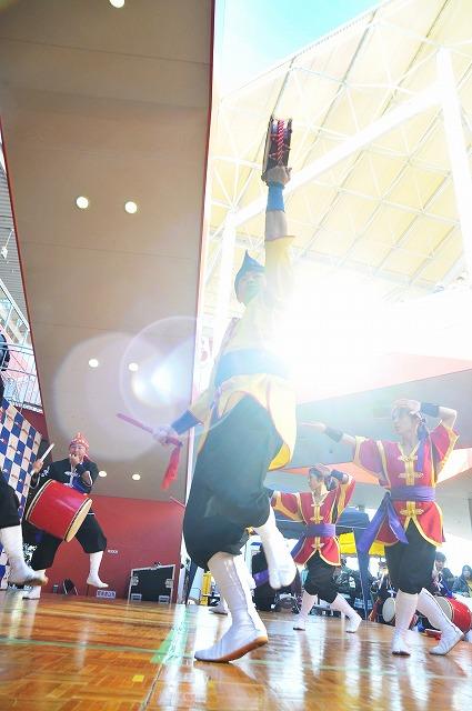 「琉球国祭り太鼓 神奈川支部 5周年記念公演PRイベント・・・」1月12日今日のショット_d0019260_2562676.jpg