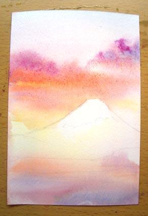 富士山を描く_f0176370_18513875.jpg